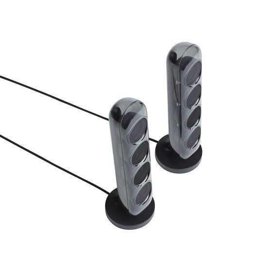 Harman Kardon SoundSticks 4 - Black - Bluetooth Speaker System - Detailshot 2